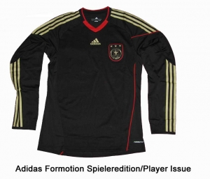 Germany DFB Shirt Away Adidas 09/11 Formotion Longsleeve