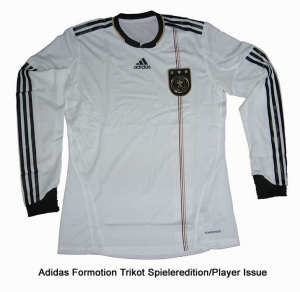 Germany DFB Shirt Home Adidas 09/11 Formotion Longsleeve