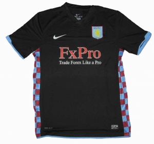 Aston Villa Trikot Away 10/11 Nike