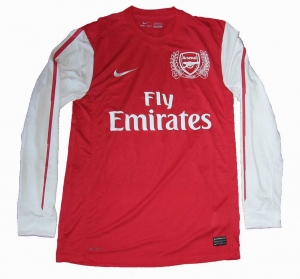 Arsenal London Trikot Home Nike 11/12 Langarm