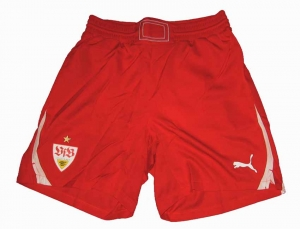 VFB Stuttgart Trikot Shorts/Hose Puma 10/11 Red Player Issue