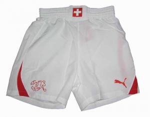 Schweiz Trikot Shorts/Hose Puma 10/11 White