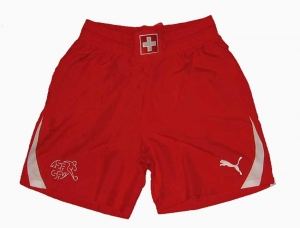 Schweiz Trikot Shorts/Hose Puma 10/11 Home Red