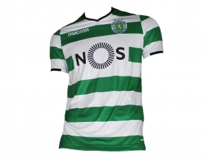 Sporting Club de Portugal Lissabon Trikot Home 2017/18 Macron