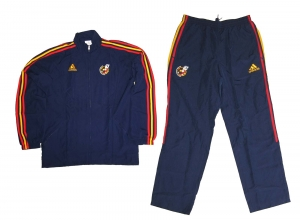 Spanien Präsentationsanzug/Trainingsanzug 2010 Adidas