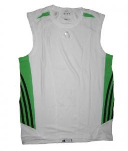 Adidas Laufshirt/Fitnessshirt Supernova White Ärmellos