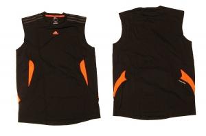 Adidas Laufshirt/Fitnessshirt Black Ärmellos