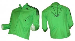 Adidas Damen Laufjacke AdiZero Goretex Green