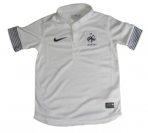 France Shirt Away Nike 12/13 Boys Size