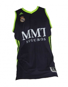 Real Madrid Basketball Trikot 2012/13 Adidas