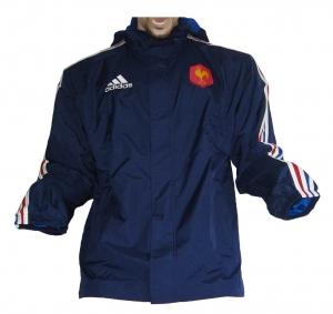 Frankreich Rugby Allwetterjacke Adidas 2012/13