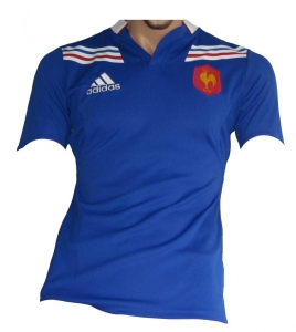 Frankreich Rugby Trikot Adidas Player Issue 2012/13
