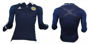 Schottland Trikot 2012/13 Home Spieleredition Techfit Adidas LS