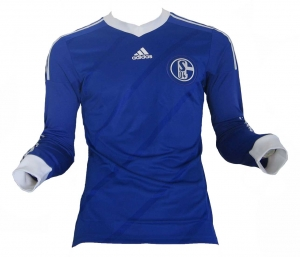 FC Schalke 04 Trikot 2013/14 Home Adidas Spieleredition Formotion LS