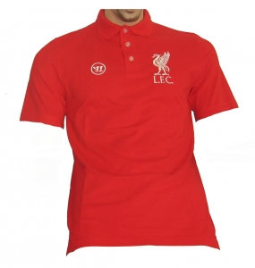 FC Liverpool Poloshirt Warrior Red