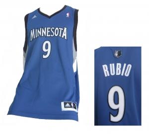 Minnesota Timberwolves NBA Swingman Trikot Adidas Ricky Rubio
