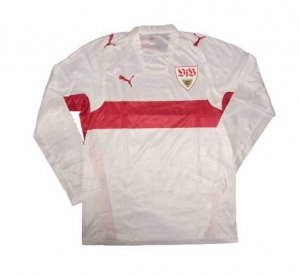 VFB Stuttgart Trikot 07/08 Home Puma Player Issue Langarm