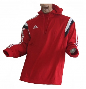 Adidas Condivo 14 Trainingssweatshirt Hoody Red