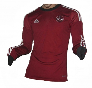 1. FC Nürnberg Trikot 2013/15 Home Adidas Spieleredition Langarmversion