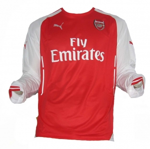 Arsenal London Trikot Home Puma 2014/15 Langarm