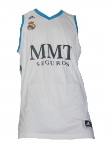 Real Madrid Basketball Trikot 2012/13 Adidas Home
