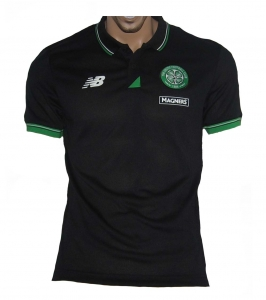 Celtic Glasgow Poloshirt New Balance Black
