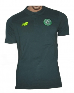 Celtic Glasgow Poloshirt New Balance Green