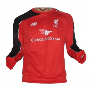 FC Liverpool Trainings Sweatshirt New Balance 2015/16