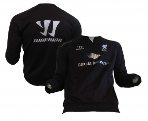 FC Liverpool Trainings Sweatshirt Black 2014/15 Warrior