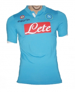 SSC Neapel Trikot Home 2014/15 Macron Spieleredition