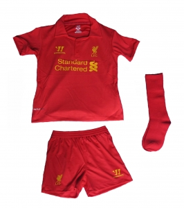 FC Liverpool Minikit Trikot Set Kindergröße 2012/13 Home Warrior
