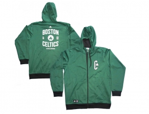 Boston Celtics NBA Trainingsjacke Freizeitjacke Hoodie Adidas Übergröße