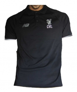 FC Liverpool Poloshirt New Balance 2015/16 Black