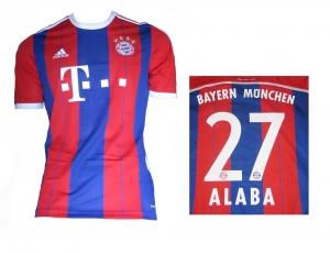 FC Bayern München Trikot Home 2014/15 Adidas David Alaba