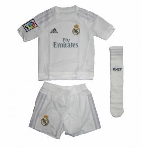 Real Madrid Minikit Trikot Set Kindergröße Home Adidas 2015/16