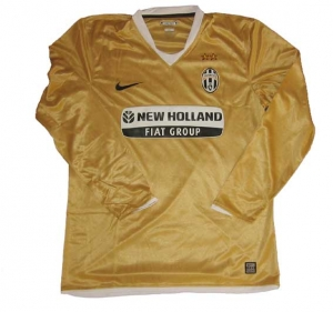 Juventus Turin Trikot 2008/09 Away Nike Player Issue LS