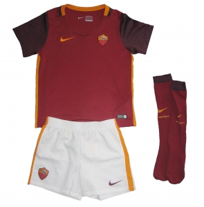 AS Rom Minikit Trikot Set Kindergröße Home Nike 2015/16