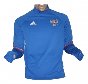 Russland Trainingstop Sweatshirt 2015/16 Adidas
