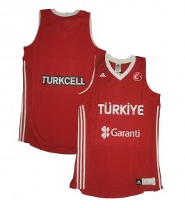 Türkei FIBA Basketball Trikot 2011 Adidas Red