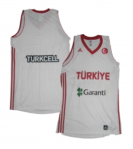 Türkei FIBA Basketball Trikot 2011 Adidas White