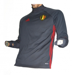 Belgien KBVB Trainingstop Sweatshirt 2015/16 Adidas