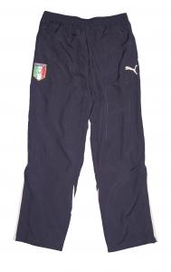 Italien FIGC Präsentationshose/Trainingshose Puma Navy