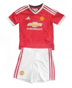 Manchester United Minikit Trikot Set Kindergröße 2015/16 Home Adidas