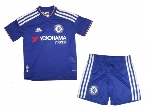 Chelsea London FC Minikit Trikot Set Kindergröße 2015/16 Home Adidas