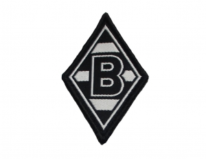 Borussia Mönchengladbach Aufnäher 6x4cm Gladbach Badge Patch