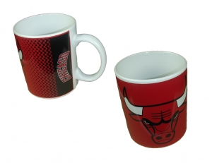 Chicago Bulls NBA Kaffeebecher