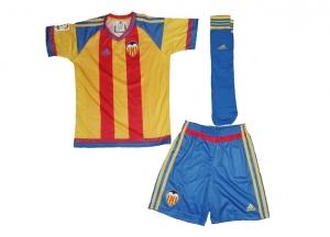 FC Valencia Minikit Trikot Set Kindergröße Away Adidas 2015/16