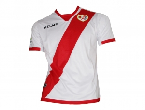 Rayo Vallecano Trikot Home Kelme 2016/17