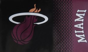 Miami Heat NBA Fahne