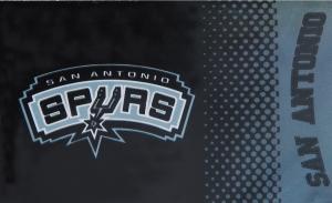 San Antonio Spurs NBA Fahne